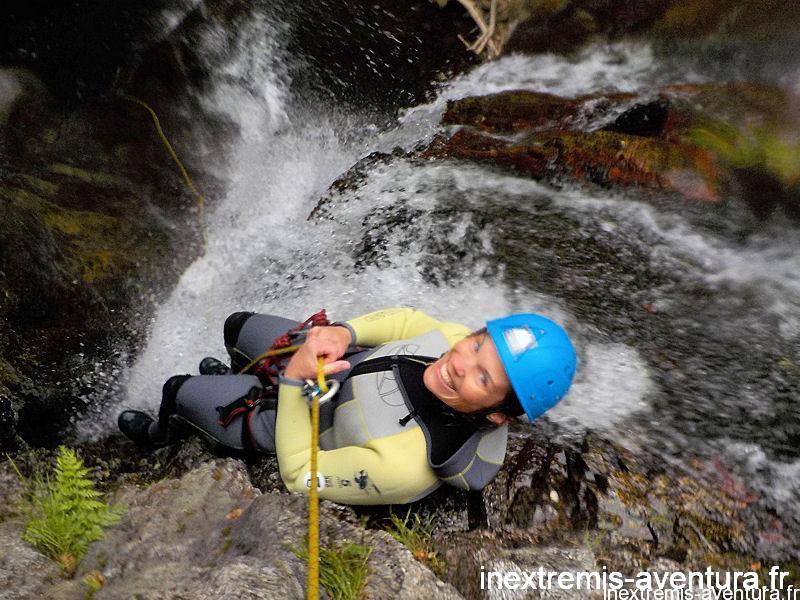 Canyoning Cascades Baoussous - Céret