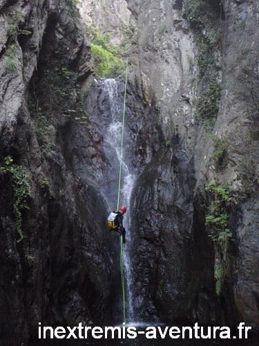 Canyong Cascades Baoussous - Céret - Pyrénées Orientales
