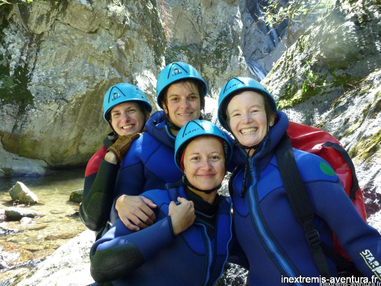 Canyoning Pyrénées Orientales EVG-EVJF