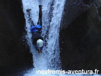 Canyoning au Llech près de Preades - Pyrénées Orientales - France