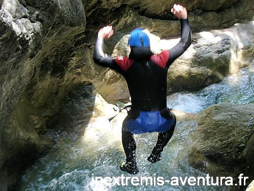 STAGES CANYONING FRANCE-ESPAGNE