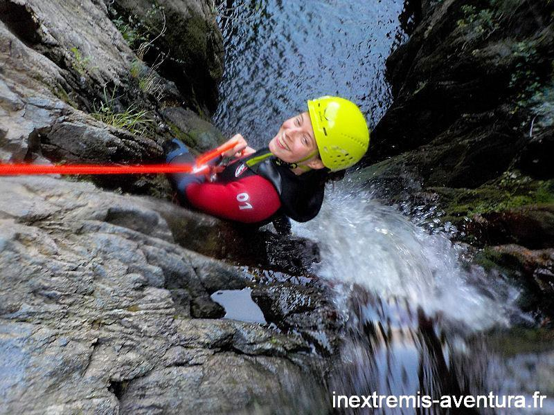CANYONING AT THE CASCADES BAOUSSOUS