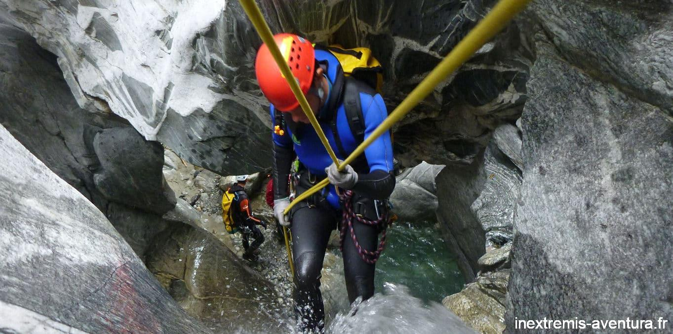 Stage Canyoning Pyrénées Orientales