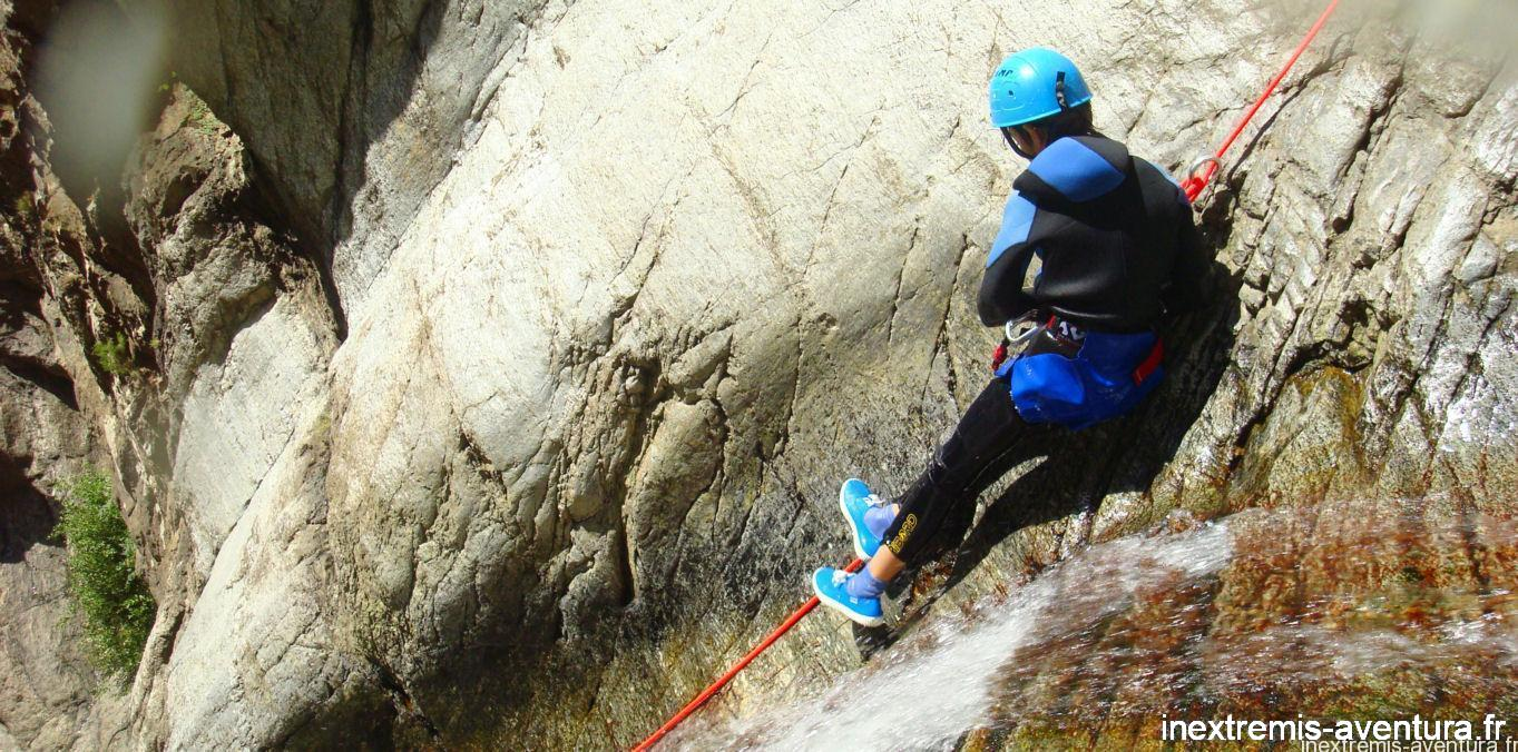 canyoning gourg des anelles - Pyrénées Orientaless
