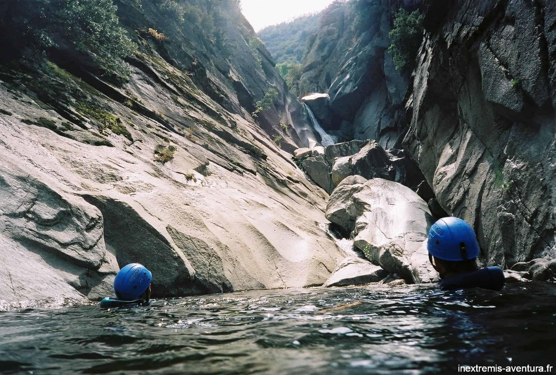 canyon gorges du terme supérieur
