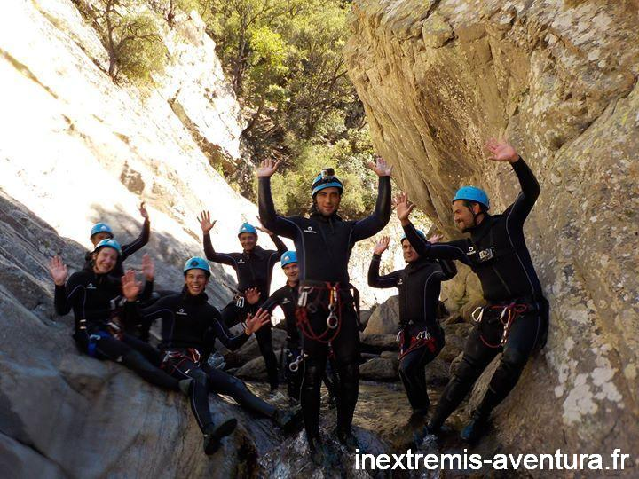 Sortie Canyoning au Llech le 25-08-2015