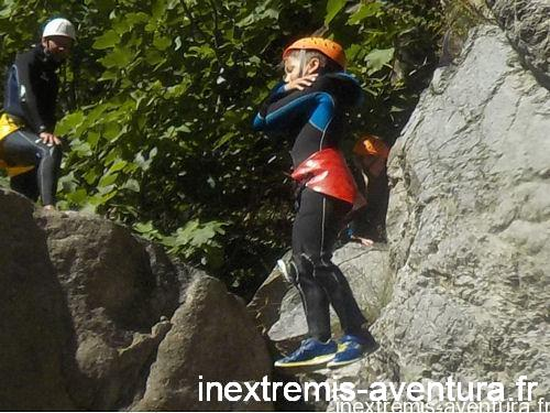 Canyoning Famille Gorges du Terme - Amélie les Bains - Pyrénées Orientales