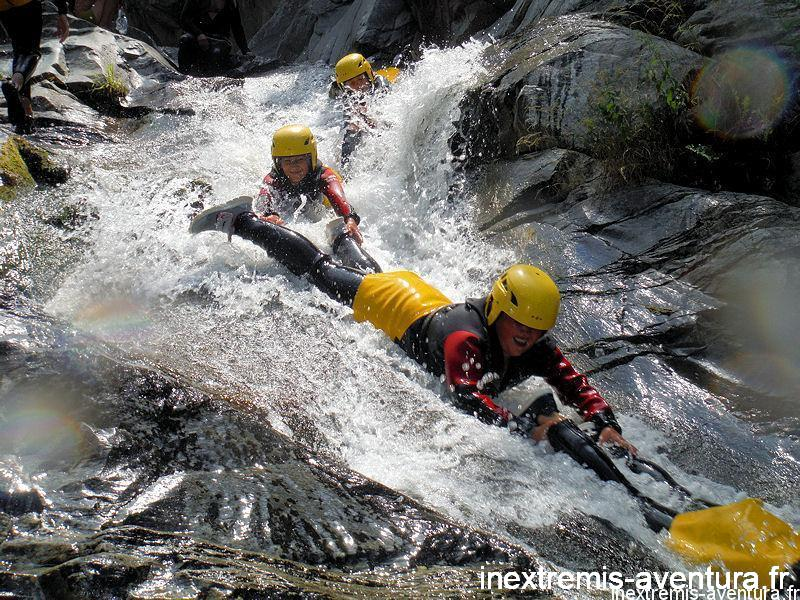 Canyoning spécial famille