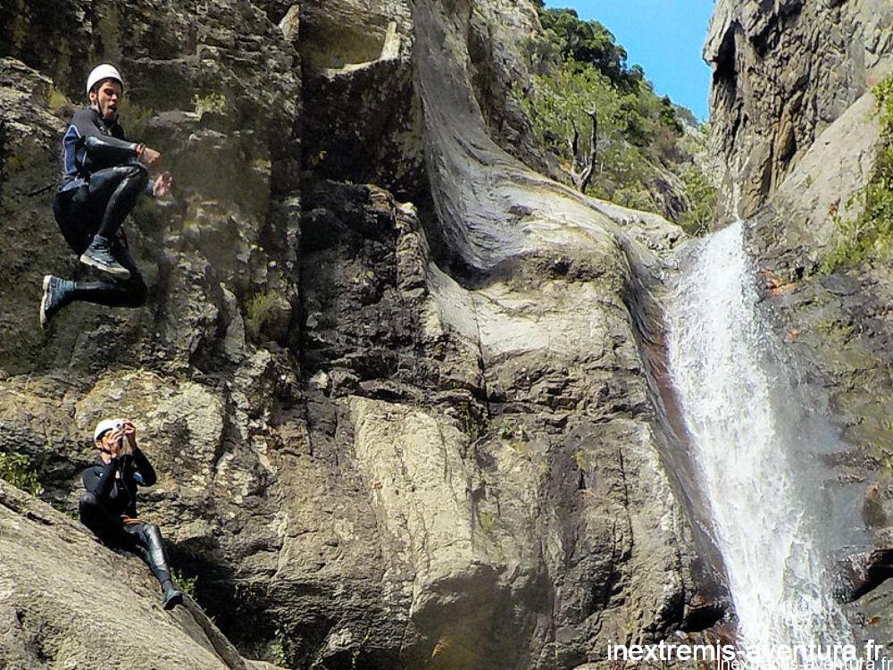 Canyoning Ceret - Gourg des Anelles - Saut
