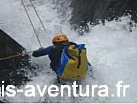Canyoning extrême dans les Pyrénées