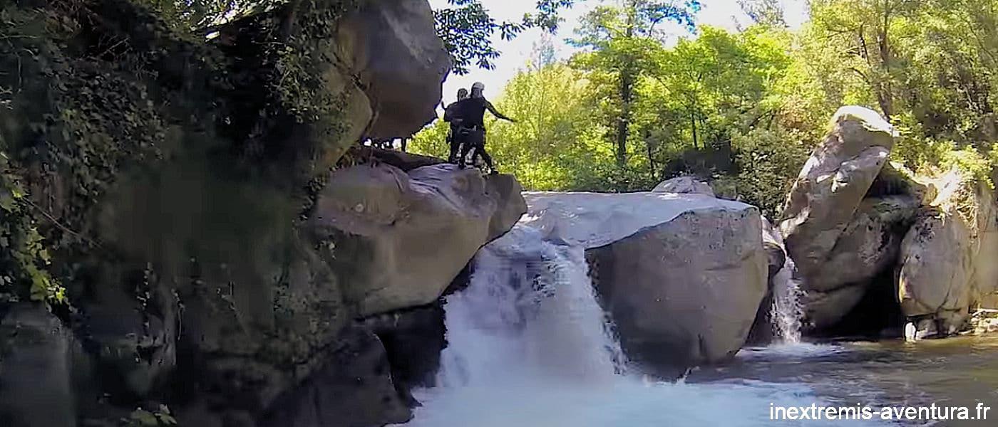 Canyoning Molitg les Bains - La Castellane - Pyrénées Orientales