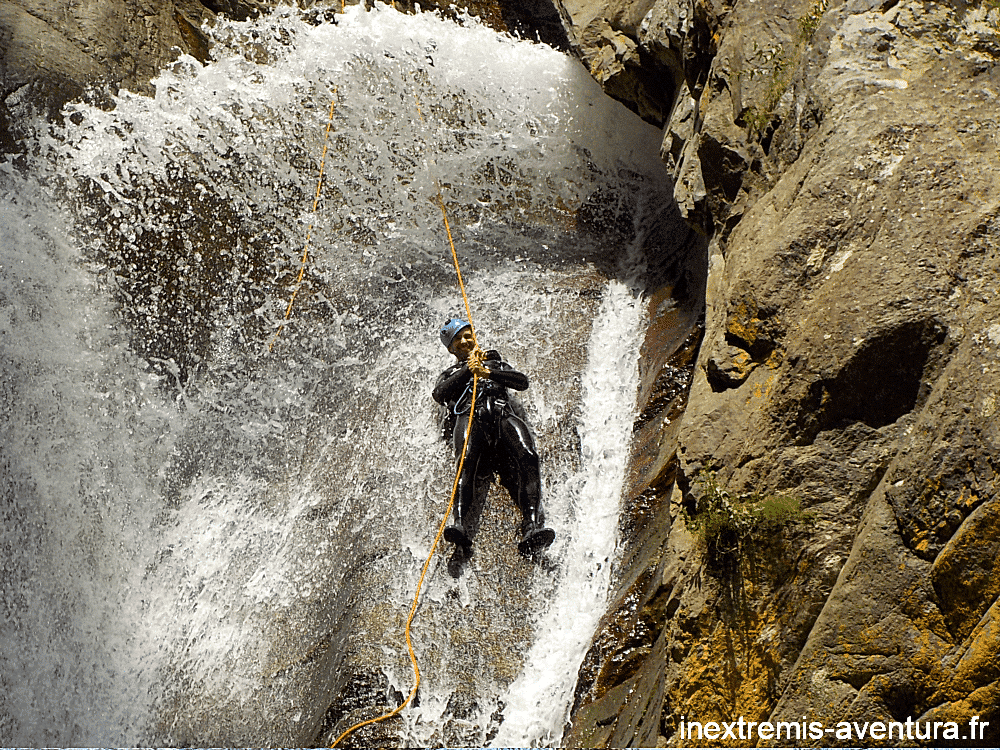 Canyoning Gourg des Anelles (Rappel)