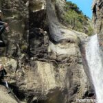 Gourg des Anelles canyoning  in Ceret - Pyrenees Orientales
