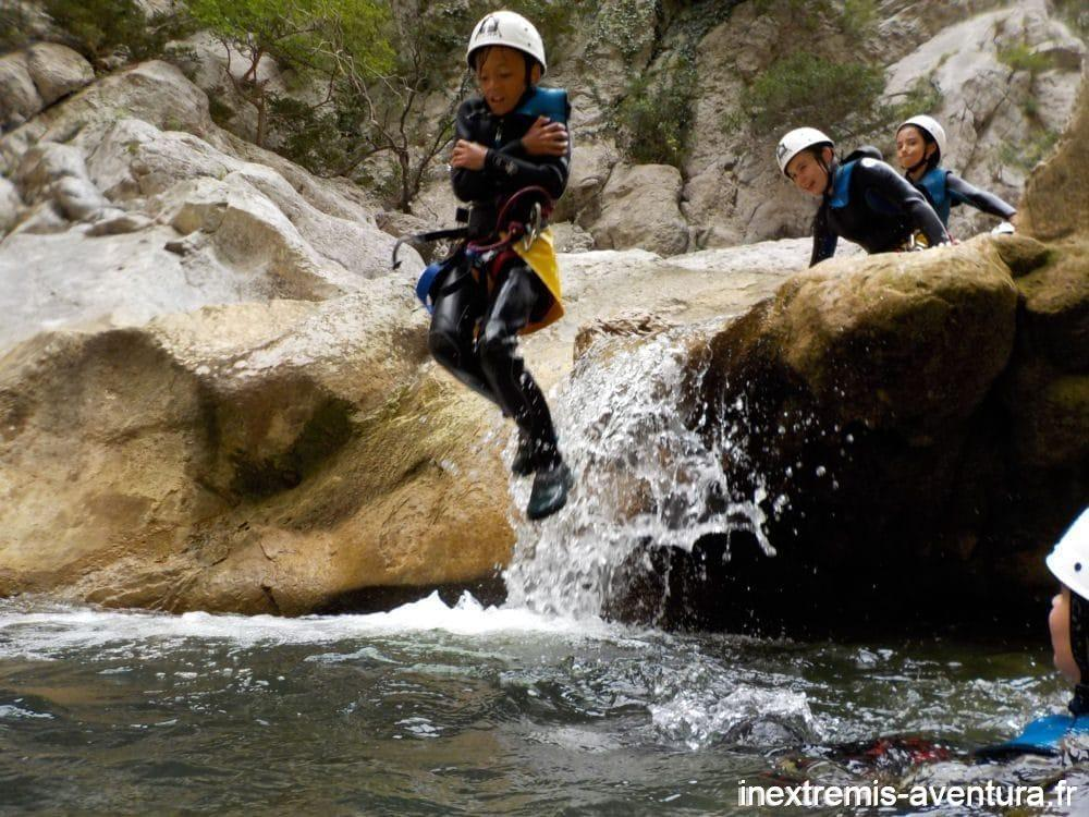 Canyoning Gorges de Galamus - Pyrénées Orientales