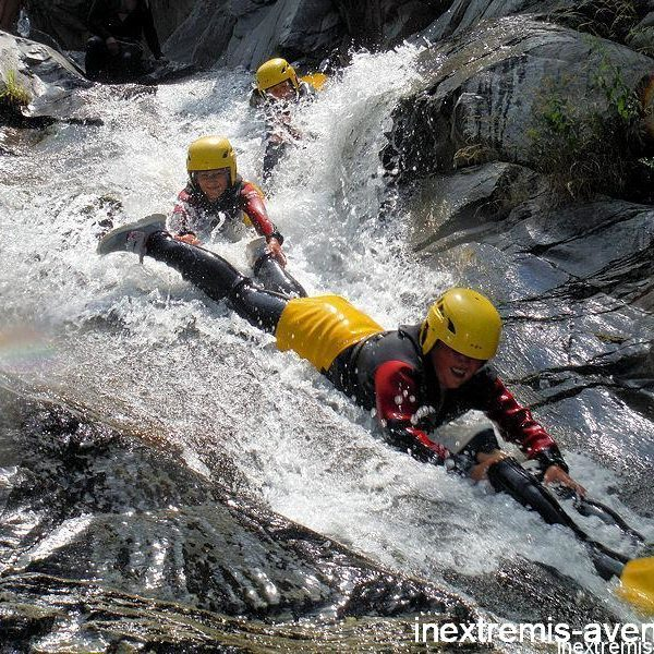 Special families canyoning