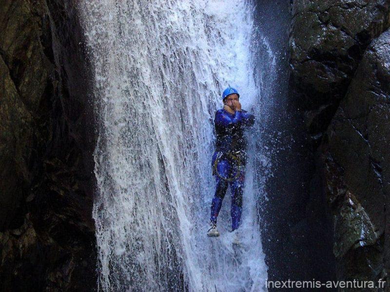 Canyoning au Llech - Prades - Pyrénées Orientales