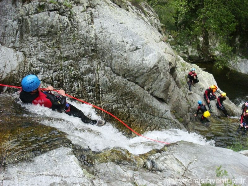 Canyoning trip Gorges du Nuria - Catalonia - Spain