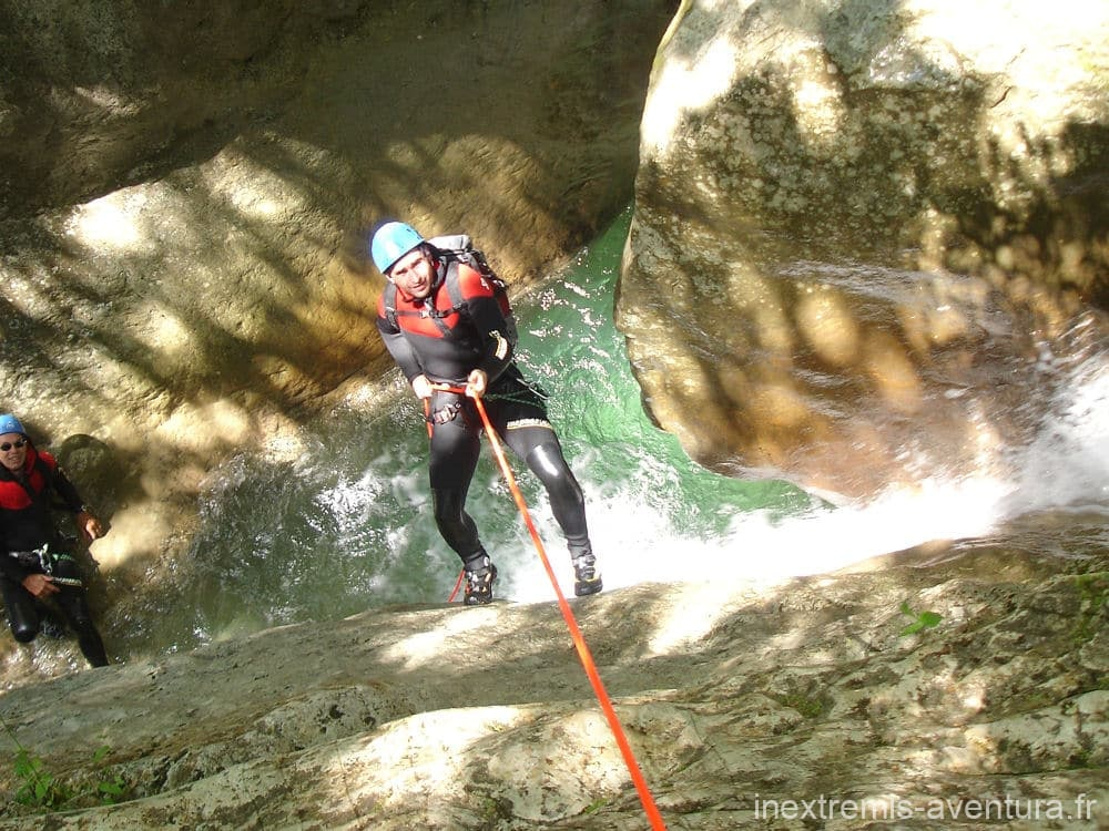 Canyoning Sant Aniol d'Aguja - Catalonia - Spain