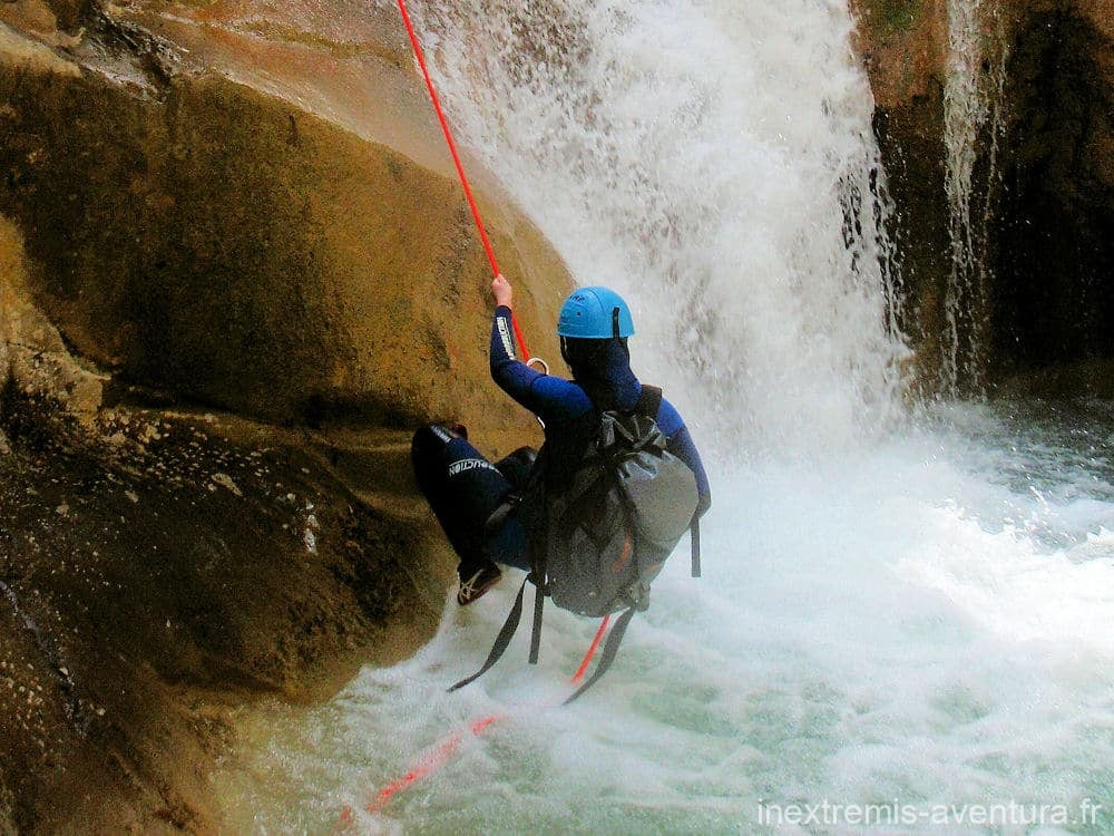 Canyoning trip Sant Aniol d'Aguja - Catalonia - Spain