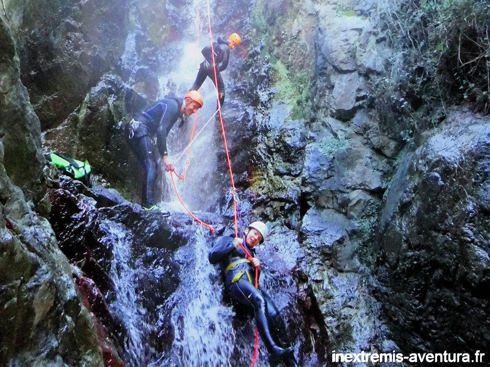 Hot Water Canyon In Thues les Bains