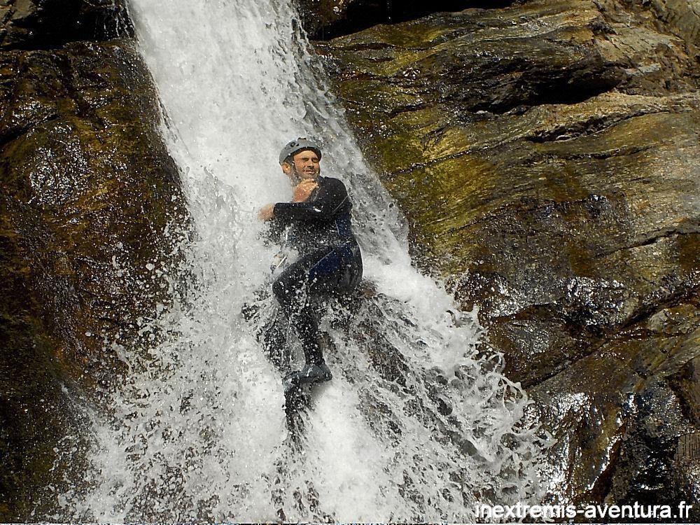 Canyoning Gourg des Anelles (Toboggan)